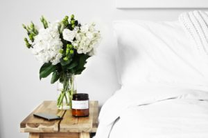 Washing the bedding reduces the allergens that collect during the winter months.
